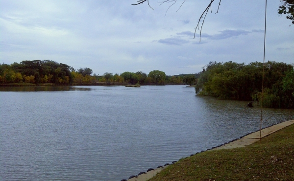 view-up-vaal-river